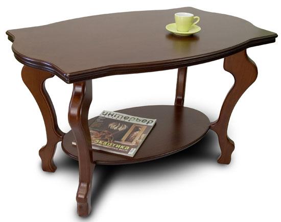 Журнальние столики из дерева